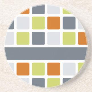 Square Pattern coaster, customize Coaster