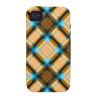 square pattern serie 1 yellow Case-Mate iPhone 4 case