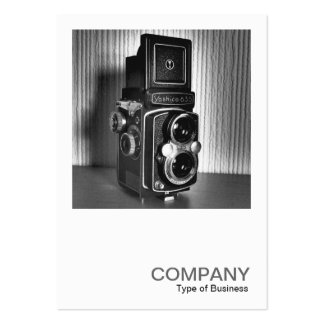 Square Photo 0172 - Vintage TLR Camera Pack Of Chubby Business Cards