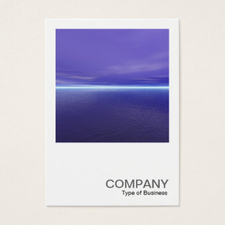Square Photo 0298 - Purple Dawn Business Card