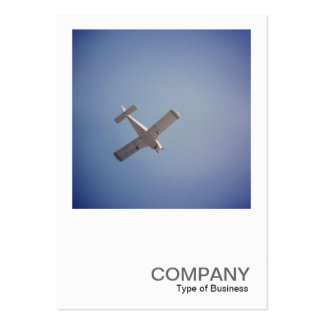 Square Photo 0448 - Passing Plane Business Cards