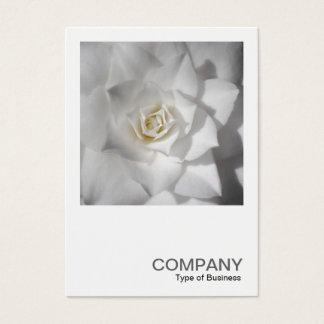 Square Photo 0512 - White Camellia Business Card