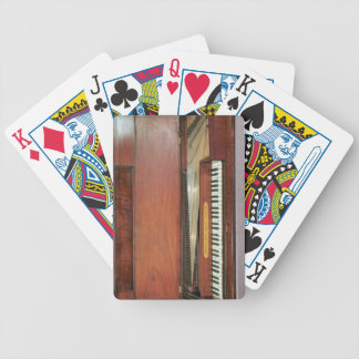 Square piano, 1767 (photo) bicycle playing cards