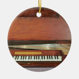 Square piano, 1767 (photo) christmas ornament