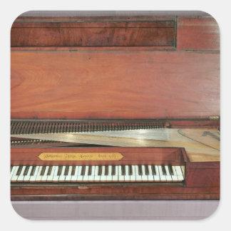 Square piano, 1767 (photo) square sticker