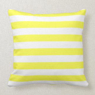 Square Pillow, Striped Design Template