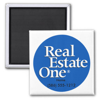 Square Real Estate One Magnet