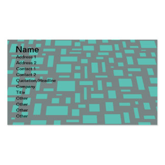 Square & Rectangles Pack Of Standard Business Cards