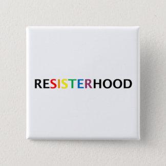 square resisterhood button