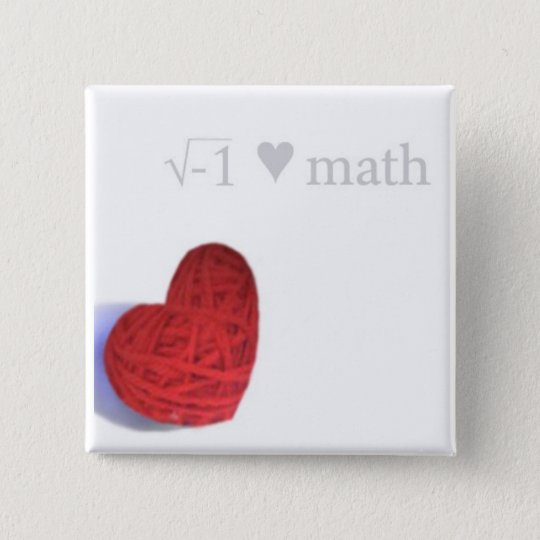 square root heart button