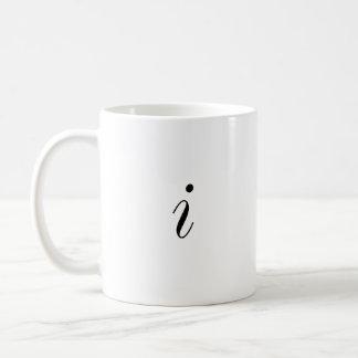 Square Root of -1 Equals i Coffee Mug