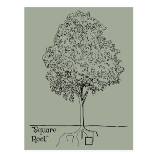 Square Root Postcard