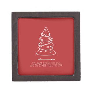 Square Small Gift Box Template Premium Trinket Box