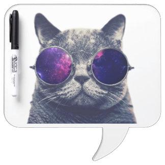 Square Speech Bubble w/ Pen Dry Erase Board, Foam Dry Erase Whiteboard
