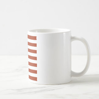 Square Stars and Stripes コーヒーマグ
