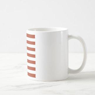 Square Stars and Stripes Basic White Mug