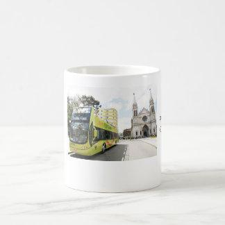 Square Tiradentes - Curitiba Basic White Mug