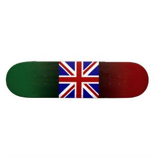 Square Union Jack Skate Board Deck