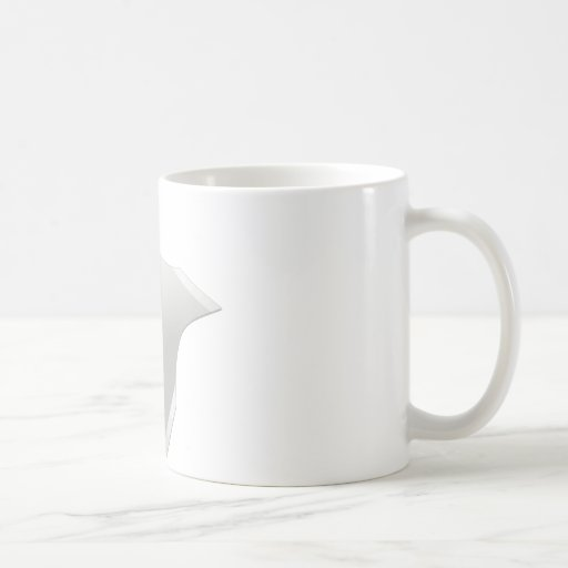 Squared ninja star mugs