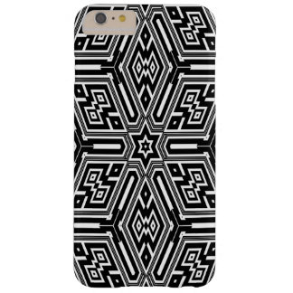 squared pattern black and white iPhone 6 case