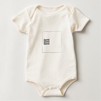 Squared Squared Squared Baby Bodysuit