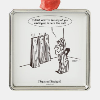 Squared Straight Ornament (square)