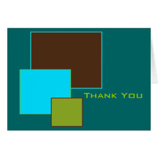 Squared Thank You Card