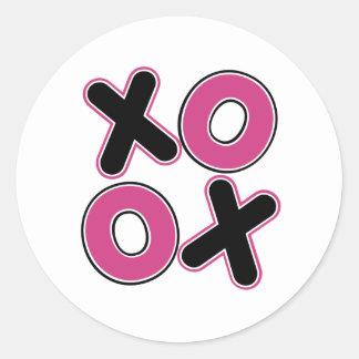 Squared XOXO Sticker