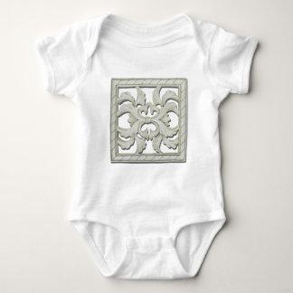 SquareDecorativeTile112810 Baby Bodysuit