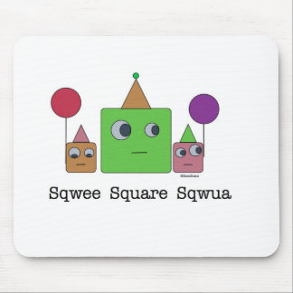 SquareFamily_monsters.012.015 Mouse Mat