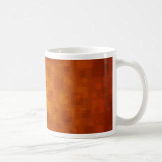 Squares 3 basic white mug