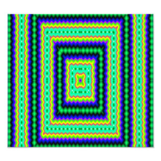 Squares abstract pattern photo