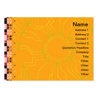 Squares Business Card Template