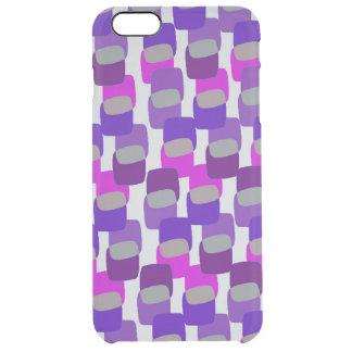 Squares Clear iPhone 6 Plus Case