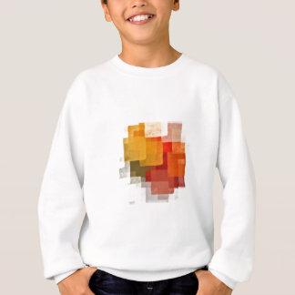 squares colorful paint pattern sweatshirt