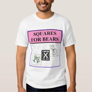 squares for bears tshirts