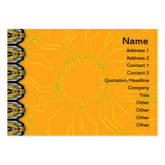 Squares Inverted Pack Of Chubby Business Cards