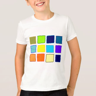 Squares of Color Tee Shirt