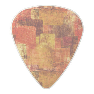 Squares on the grunge wall, abstract background acetal guitar pick