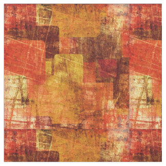 Squares on the grunge wall, abstract background fabric