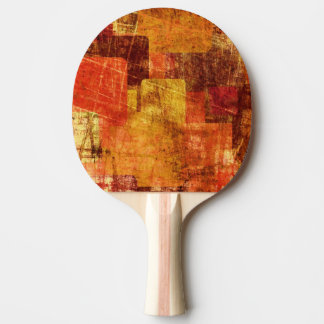 Squares on the grunge wall, abstract background ping pong paddle