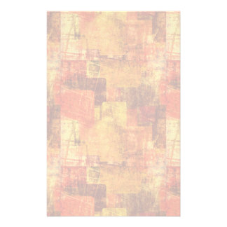 Squares on the grunge wall, abstract background stationery