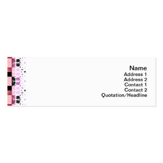 Squares Pack Of Skinny Business Cards