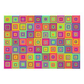 Squares Pattern Photo