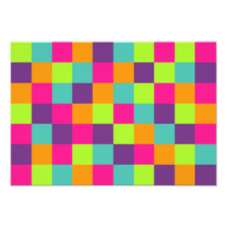 Squares Pattern Photo Art