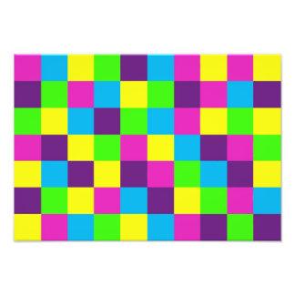 Squares Pattern Photograph