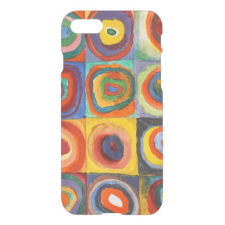 Squares with Concentric Circles by Kandinsky iPhone 8/7 Case