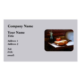 Squash and Tomato Pack Of Standard Business Cards