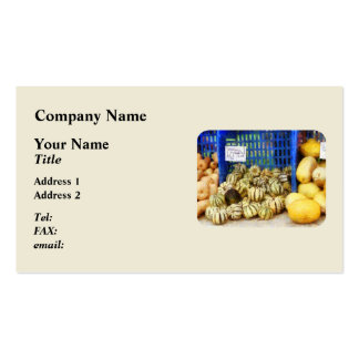 Squash at Farmer's Market Pack Of Standard Business Cards