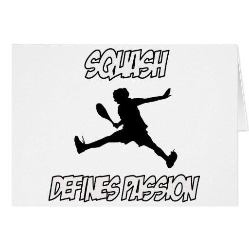 squash designs card